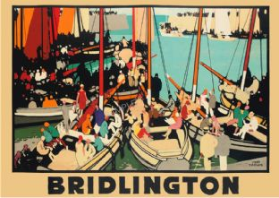 Bridlington Harbour Art Deco